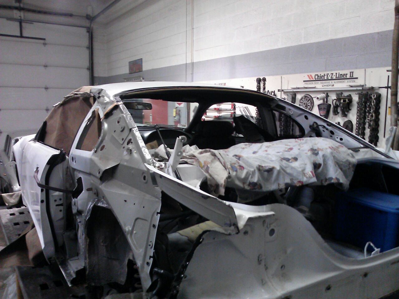 Replacing rear quarter panel - Forums at Modded Mustangs